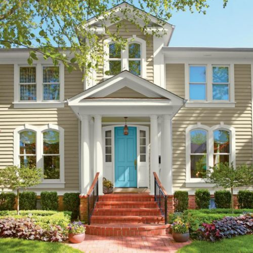Beige Paint for Gainesville Exterior House Painting