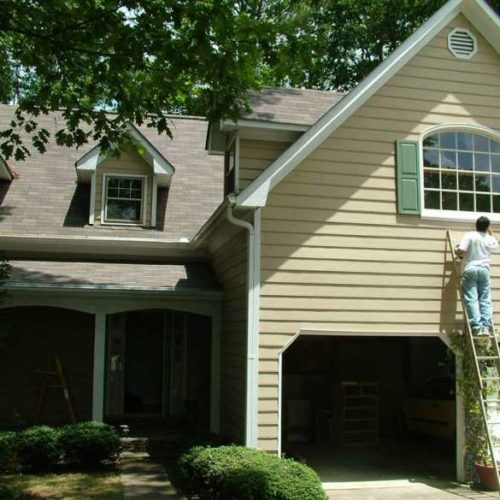 Gainesville Exterior House Painting - 05/02/2018
